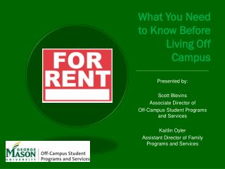 What You Need to Know Before Living Off Campus