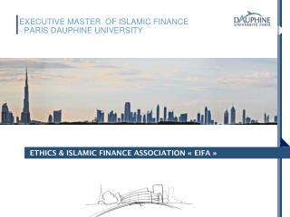 ETHICS & ISLAMIC FINANCE ASSOCIATION « EIFA »