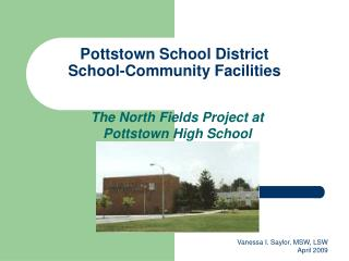 Pottstown School District School-Community Facilities