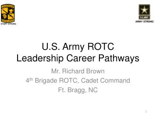 U.S. Army ROTC Leadership Career Pathways