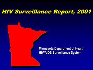 HIV Surveillance Report, 2001
