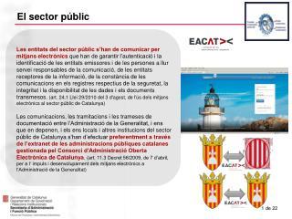 El sector públic