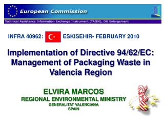 Implementation of Directive 94/62/EC: Management of Packaging Waste in Valencia Region