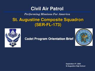 St. Augustine Composite Squadron (SER-FL-173)