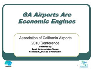 GA Airports Are Economic Engines