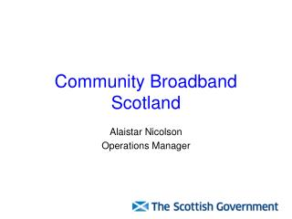 Community Broadband Scotland