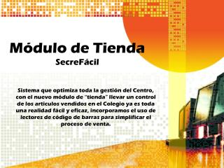 Módulo de Tienda SecreFácil