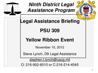 Ninth District Legal Assistance Program