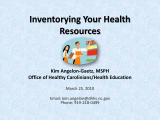 Inventorying Your Health Resources