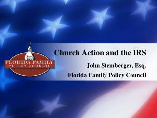 Church Action and the IRS
