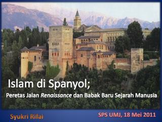 Islam di Spanyol;