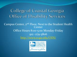 College of Coastal Georgia Office of Disability Services