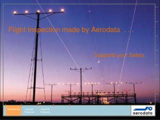Flight Inspection made by Aerodata  . . .