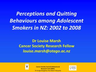 Trends in regular smoking for girls 1999-2010
