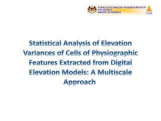Digital Elevation Models (DEMs)