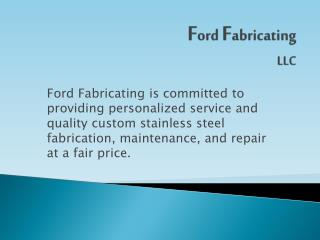 F ord  F abricating  LLC
