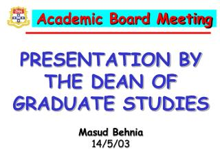 Academic Board Meeting