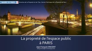 La propreté de l'espace public à PARIS