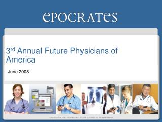 3 rd  Annual Future Physicians of America