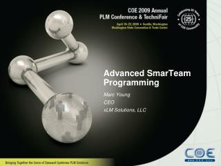 Advanced SmarTeam Programming