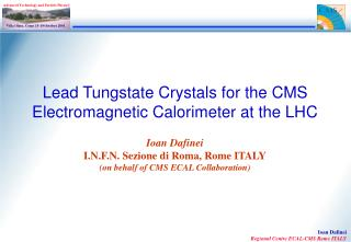 Lead Tungstate Crystals for the CMS Electromagnetic Calorimeter at the LHC