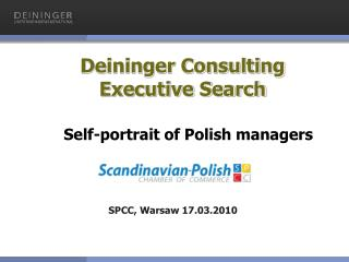 Deininger Consulting Executive Search