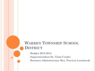 Warren Township School District