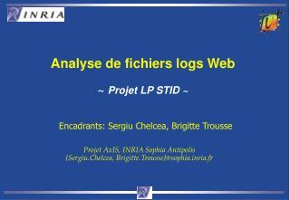 Analyse de fichiers logs Web ~ Projet LP STID ~