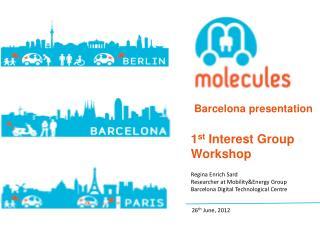 Barcelona presentation