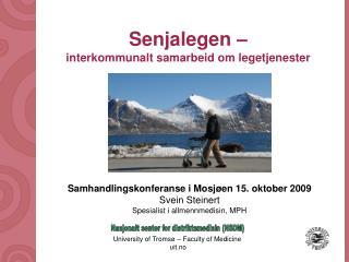 Senjalegen – interkommunalt samarbeid om legetjenester