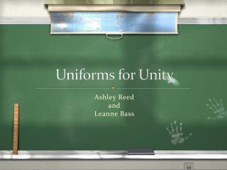 Uniforms for Unity