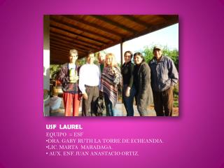 USF  LAUREL