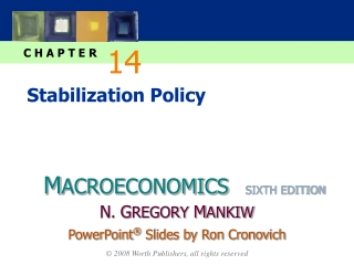 CHAPTER FOURTEEN Stabilization Policy