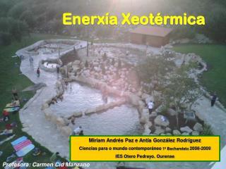 Enerxía Xeotérmica