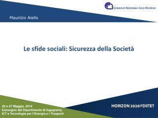 Conferenza del Dipartimento DIITET  26 e 27 maggio 2014
