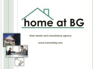 Real estate and consultancy agency homeatbg