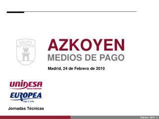 AZKOYEN MEDIOS DE PAGO