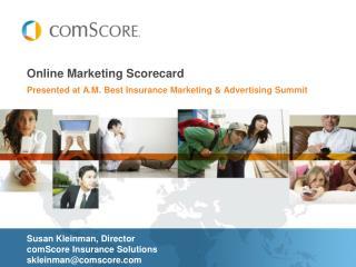Online Marketing Scorecard