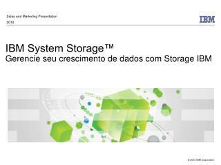IBM System Storage™ Gerencie seu crescimento de dados com Storage IBM