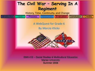 The Civil War   Serving In A Regiment History, Time, Continuity, and Change