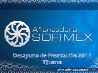 Desayuno de Premiación 2011 Tijuana