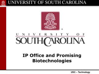 IP Office and Promising  Biotechnologies