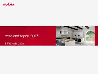 Year-end report 2007