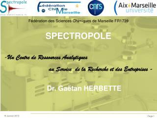 SPECTROPOLE