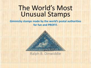 The World's Most Unusual Stamps