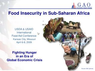 Food Insecurity in Sub-Saharan Africa