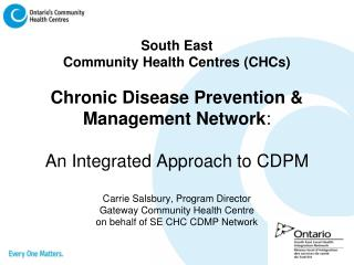 SE CHC CDPM Network