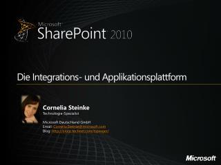Die Integrations- und Applikationsplattform