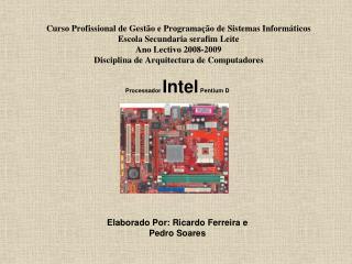 Processador  Intel  Pentium D