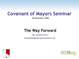 Covenant of Mayors Seminar